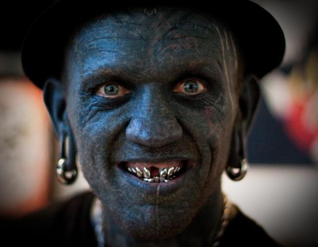 Persona Con Mas Tatuajes
