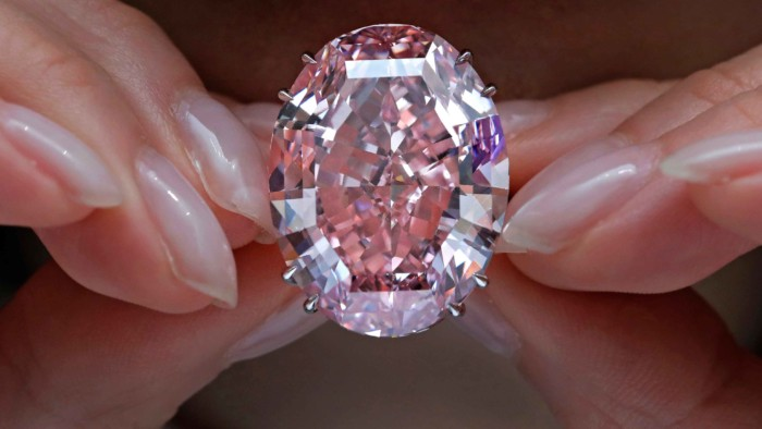 El Diamante 'Estrella Rosa', La Joya Más Cara De La Historia
