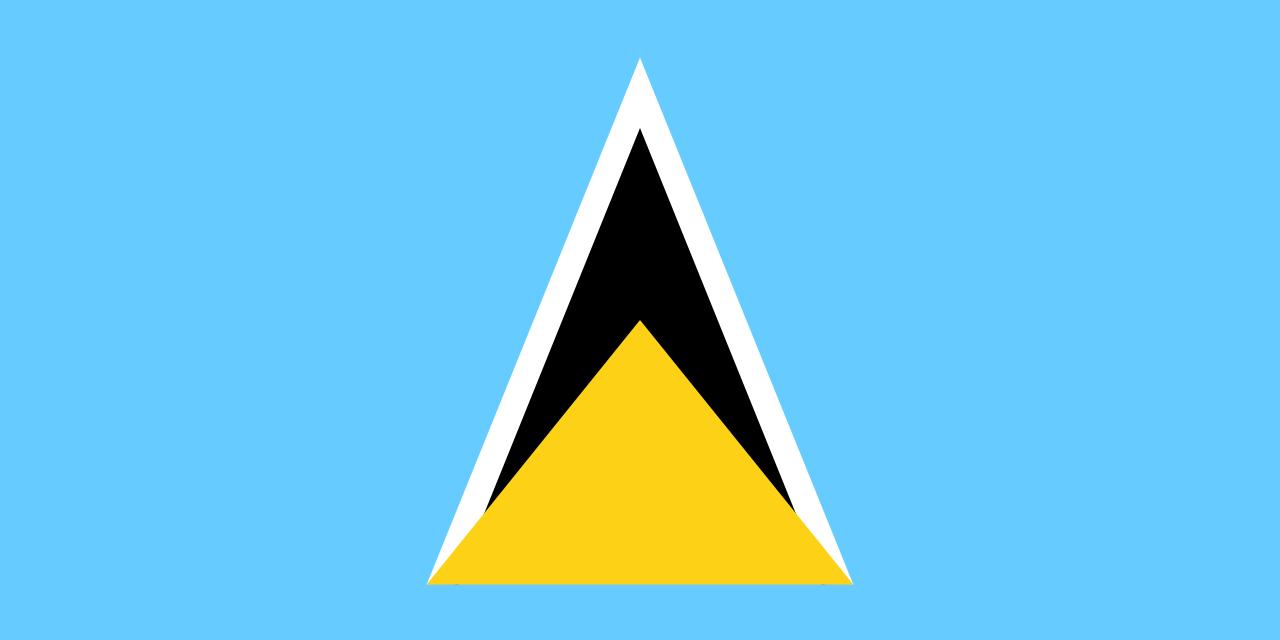 bandera de santa lucia