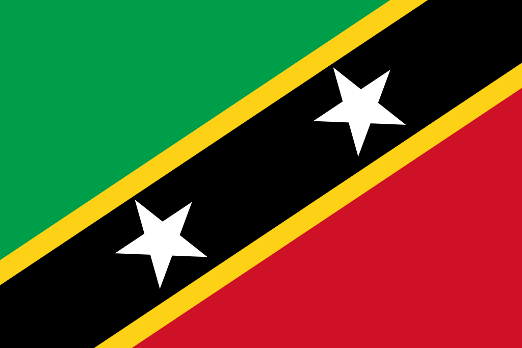 bandera de San Cristóbal y Nieves