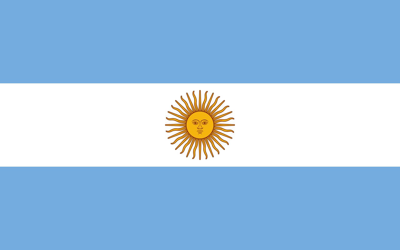 bandera de argentina.