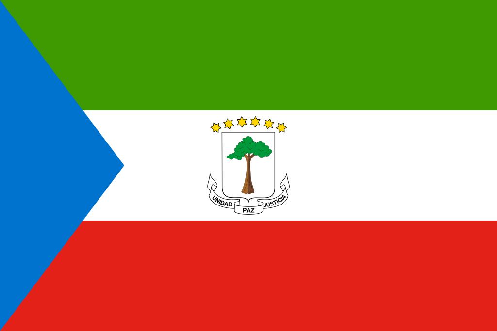 Bandera de Guinea Ecuatorial