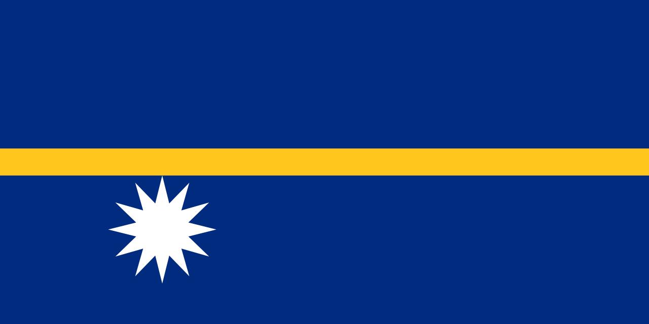 Bandera de Nauru