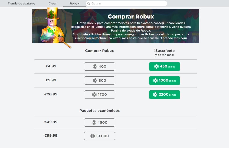 Como Comprar Robux En Roblox En Pc Android E Ios 2020 Libretilla